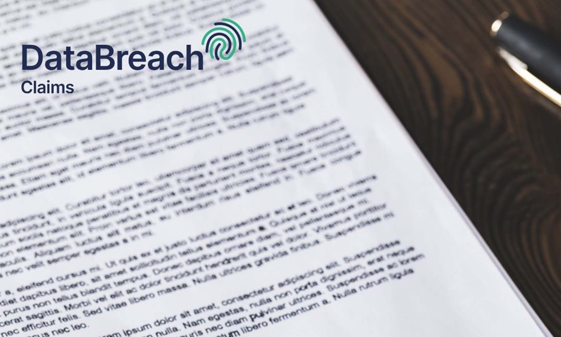 What can you claim data breach for?